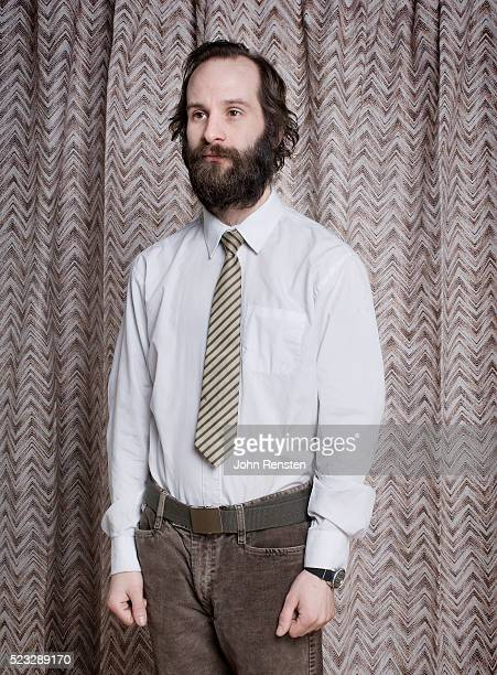 businessman with beard - nerd stock pictures, royalty-free photos & images
