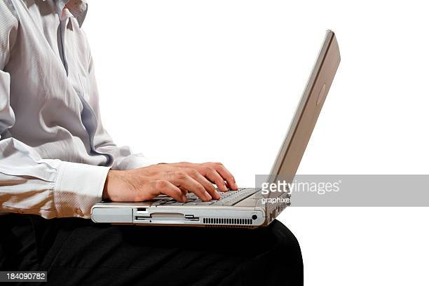 businessman working - graphixel stock pictures, royalty-free photos & images