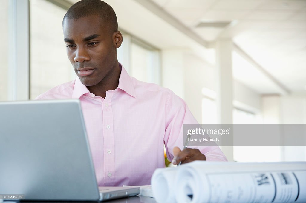 Businessman working : Foto stock