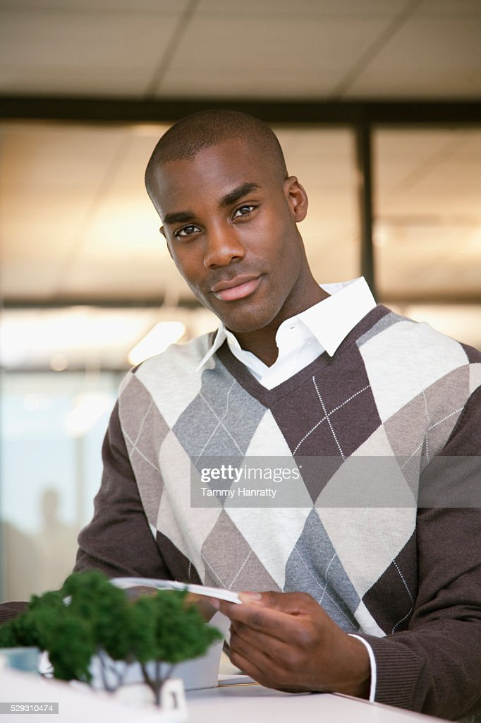 Businessman working : Stock Photo