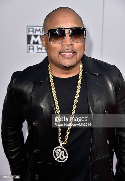 Businessman/TV personality Daymond John attends the 2014 American Music Awards at Nokia Theatre LA Live on November 23 2014 in Los Angeles California