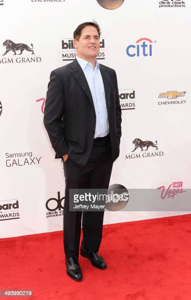 Businessman/TV personality Mark Cuban arrives at the 2014 Billboard Music Awards at the MGM Grand Garden Arena on May 18, 2014 in Las Vegas, Nevada.
