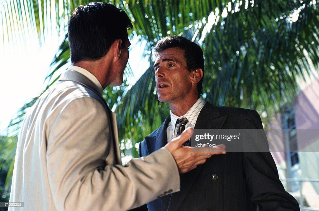 Businessmen arguing : Stock Photo