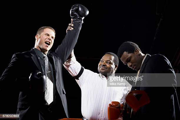 businessmen boxing - mixed boxing stock photos and pictures