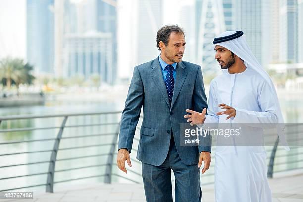 Businessmen in Dubai