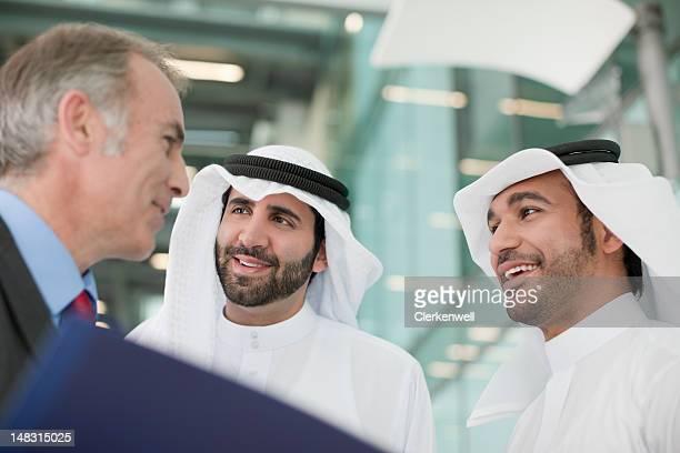 Geschäftsleute in den Meetingräumen