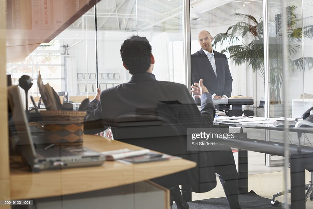 Businessmen meeting in office : Stock Photo