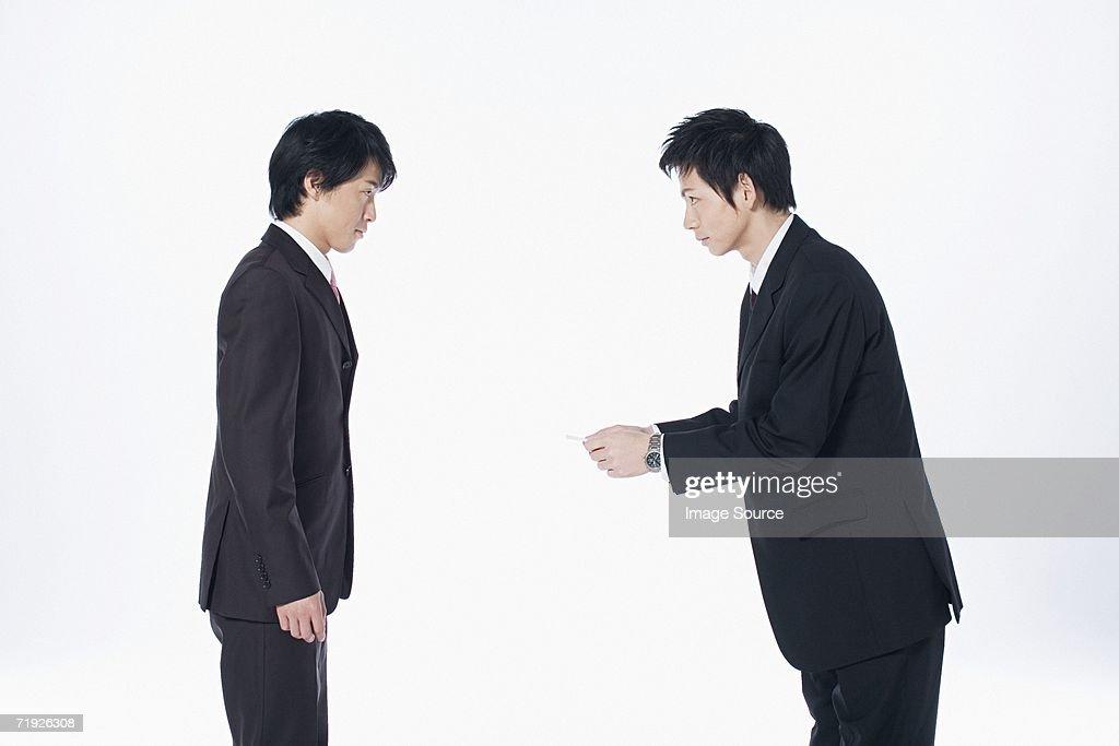 Businessmen meeting : Stock Photo