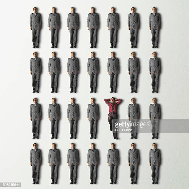 businessmen - cloning stock pictures, royalty-free photos & images