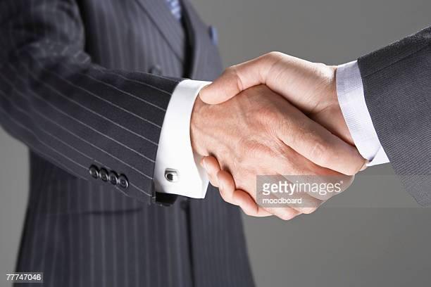 Businessmen Shanking Hands