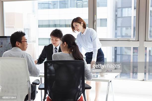 ビジネスには、オフィスを協議する
