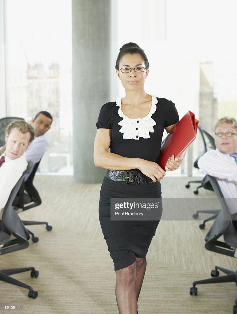 Hot naked office women
