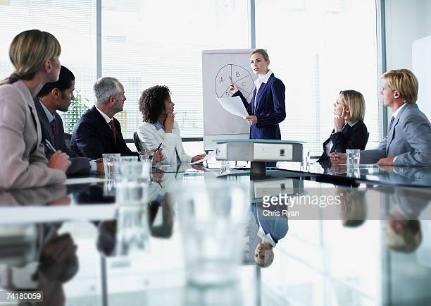 Empresarios en reunión