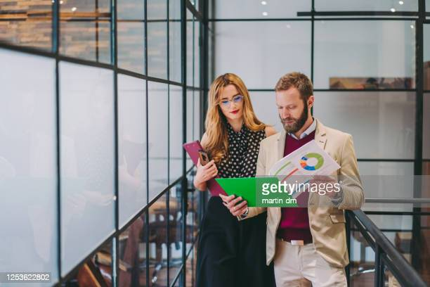 businesspeople at work - chart stock pictures, royalty-free photos & images