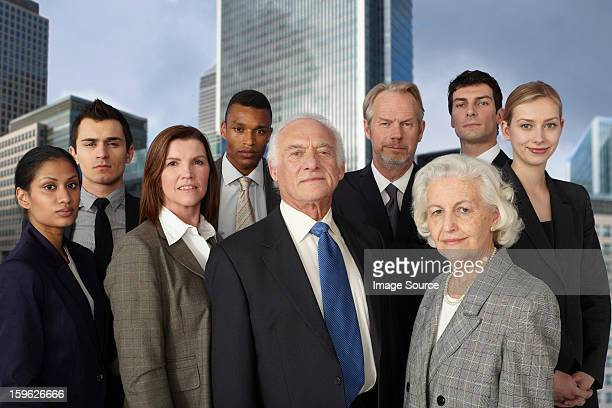 businesspeople in city - medium group of people stock pictures, royalty-free photos & images