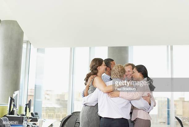 Geschäftsleute in der Sitzung im Büro