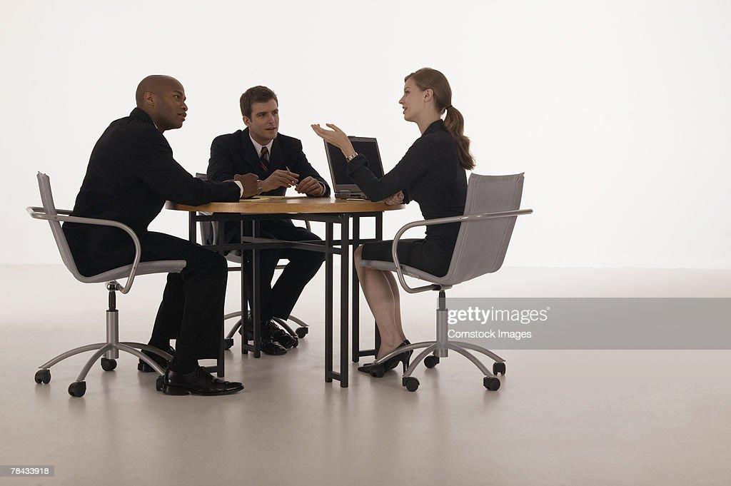 Businesspeople in meeting : Foto de stock