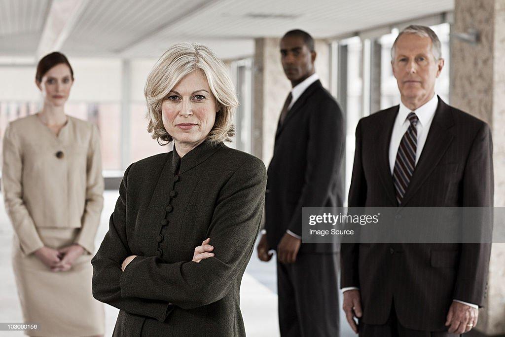 Geschäftsleute in Büro : Stock-Foto
