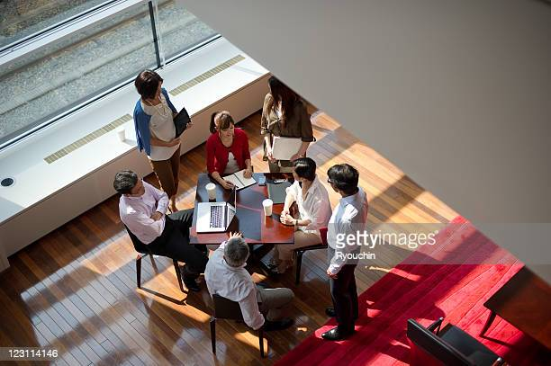 businesspeople in the office