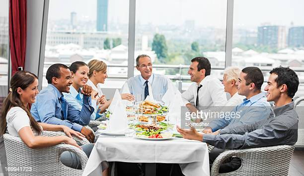 Businesspeople on lunch