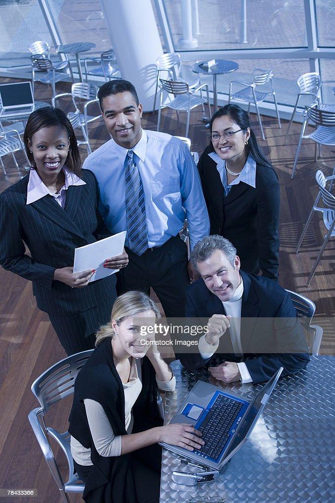 Businesspeople : Stockfoto
