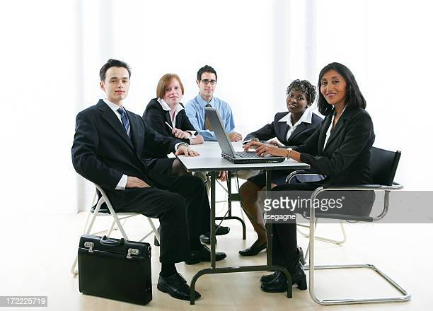 Businesspeople series : Training II
