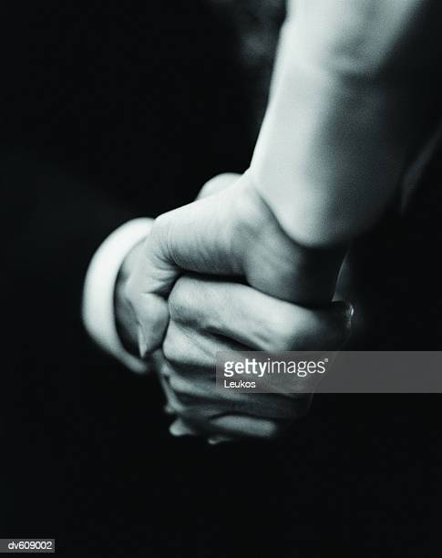 Businesspersons Shaking Hands