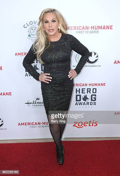 Businesswoman Adrienne Maloof attends the 6th Annual Hero Dog Awards 2016 at The Beverly Hilton Hotel on September 10 2016 in Beverly Hills California