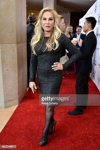 Businesswoman Adrienne Maloof attends the Sixth Annual American Humane Association Hero Dog Awards at The Beverly Hilton Hotel on September 10 2016...