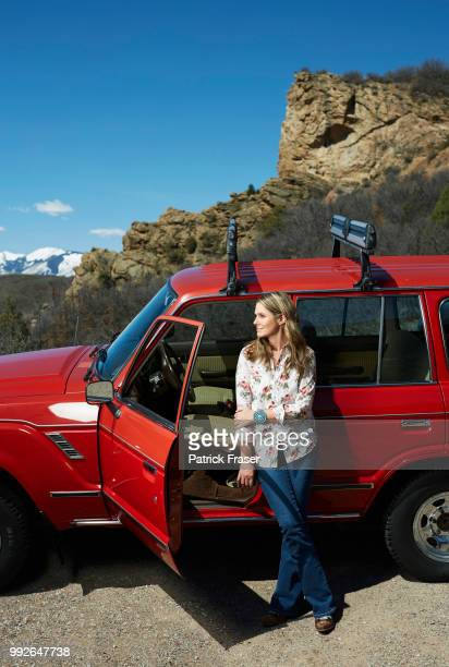Businesswoman Aerin Lauder is photographed for How to Spend It on June 15 2016 in Aspen Colorado