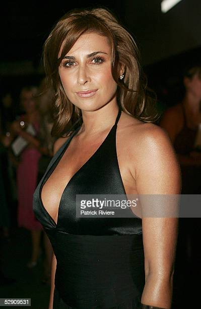 Businesswoman and fashion designer Jodhi Packer attends the 2005 Marie Claire Awards at the Australian Technology Park Exhibition Hall on May 18 2005...