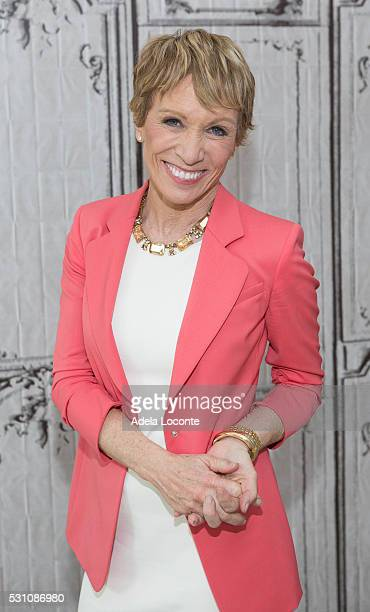 Businesswoman and Investor Barbara Corcoran attends Shark Tank and Beyond the Tank at AOL Studios In New York on May 12 2016 in New York City