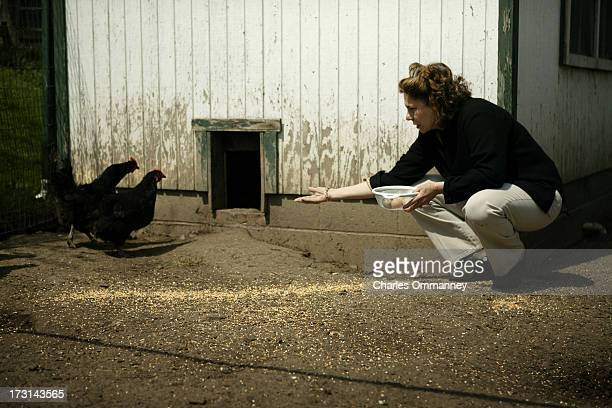 Businesswoman and philanthropist Teresa Heinz Kerry photographed for Self Assignment at Rosemont Farm, Pittsburgh, PA, on April 17, 2004....