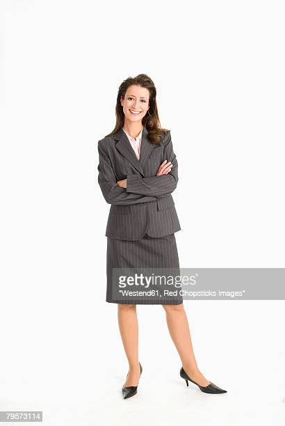 'Businesswoman, arms crossed'