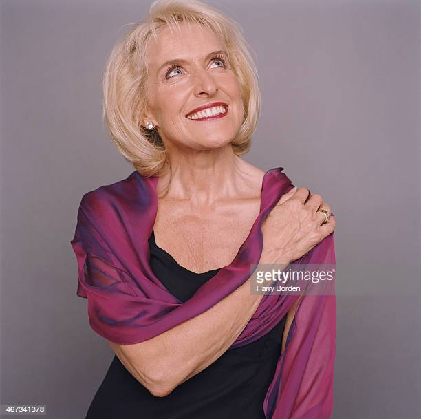 Businesswoman author and broadcaster on exercise and health Rosemary Conley is photographed for Live Night Day magazine in London United Kingdom