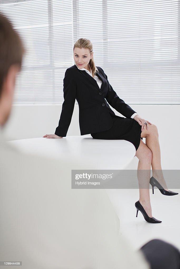Flirten mit einem kollegen