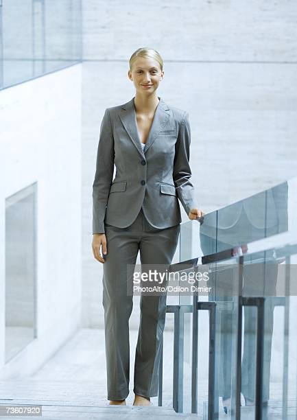 Businesswoman, full length portrait