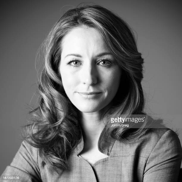 Businesswoman headshot portrait