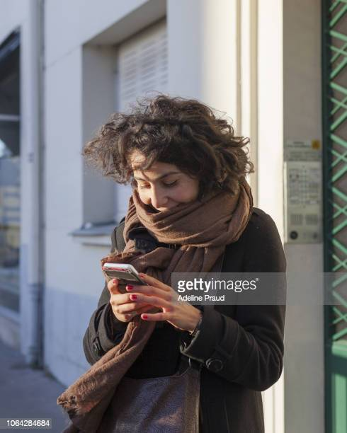 young woman during few daily moment - western europe stock pictures, royalty-free photos & images