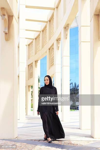 Femme d'affaires à Dubaï