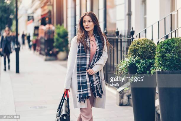 Businesswoman in London city