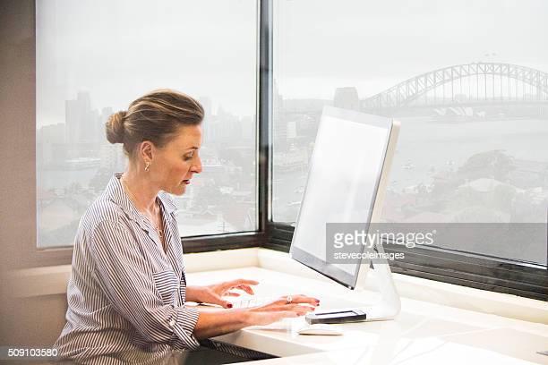 Femme d'affaires de Sydney, en Australie