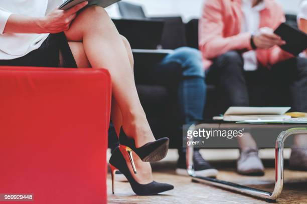 businesswoman in the meeting - formal businesswear stock pictures, royalty-free photos & images