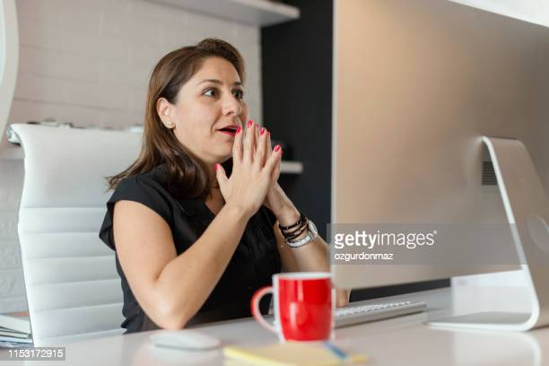 businesswoman in the office - article stock pictures, royalty-free photos & images