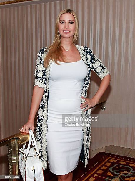 Businesswoman Ivanka Trump attends the 2011 National Association of Professional Women National Networking Conference at The Waldorf=Astoria on April...