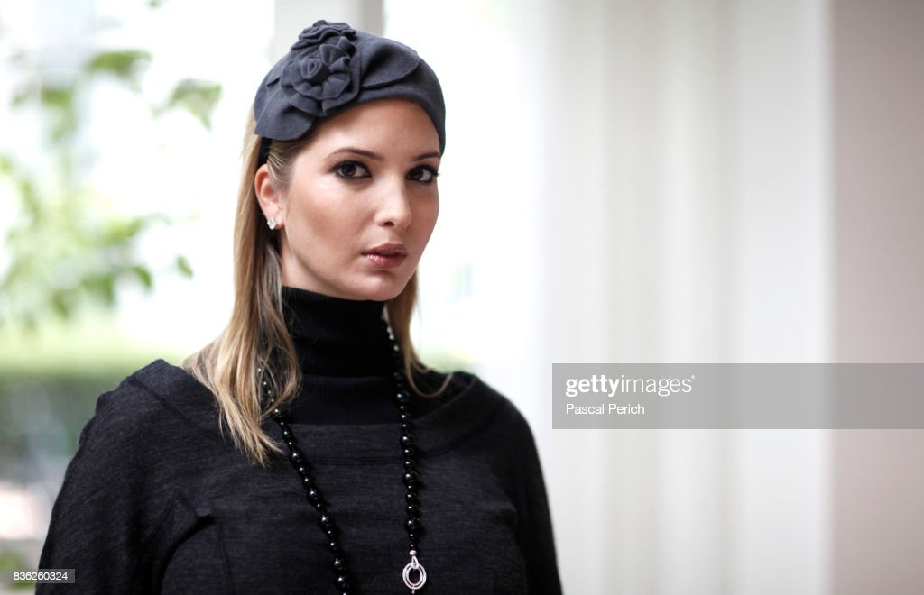 Businesswoman Ivanka Trump, wearing jewelry from her own collection, is photographed for Financial Times on September 12, 2010, in New York City.