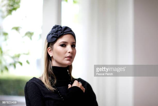 Businesswoman Ivanka Trump wearing jewelry from her own collection is photographed for Financial Times on September 12 2010 in New York City