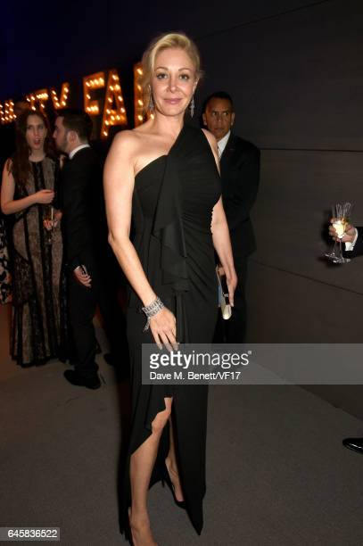Businesswoman Nadja Swarovski attends the 2017 Vanity Fair Oscar Party hosted by Graydon Carter at Wallis Annenberg Center for the Performing Arts on...