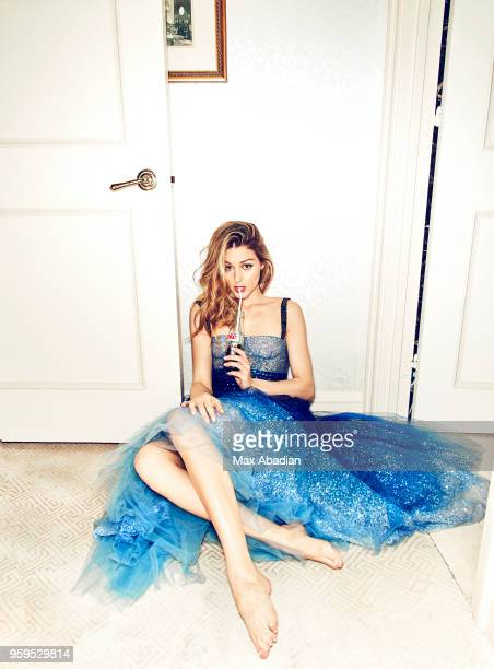 Businesswoman Olivia Palermo is photographed for Cosmopolitan UK on March 30 2017 in New York City PUBLISHED IMAGE