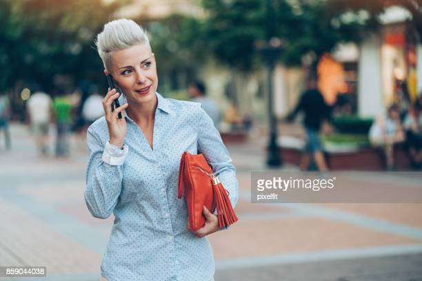 Businesswoman on the street